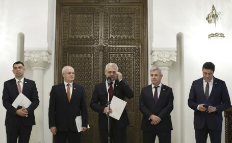 PSD, Liviu Dragnea, Serban Nicolae, Eugen Nicolicea