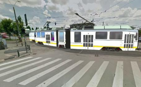 ANIMAȚIE GRAFICĂ. Cum s-au ciocnit două tramvaie în Capitală. Impactul, deosebit de violent