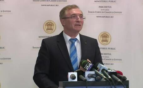 Augustin Lazăr, cu lacrimi în ochi și voce tremurândă la finalul declaraţiei de presă