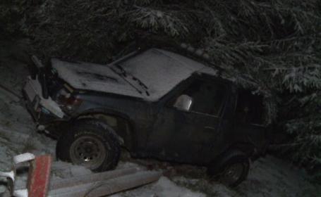 Valul de aer polar ajuns în România a creat zeci de probleme pe șosele. Când se va domoli vremea