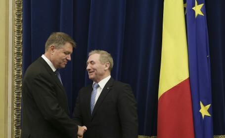 Augustin Lazăr, Klaus Iohannis