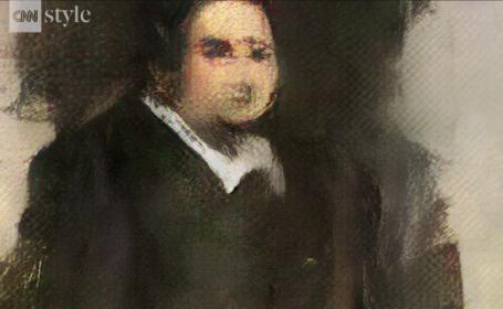 Portret pictat de AI