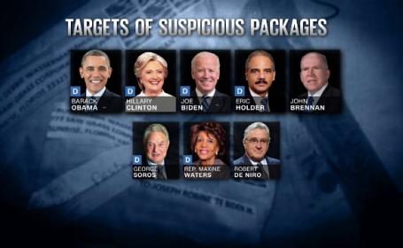 Identitatea celui care le-a trimis bombe democraților americani, în continuare necunoscută