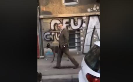 """Preşedintele AEP, urmărit pe stradă de un bărbat: """"Iată sluga lui Dragnea!"""". Reacția acestuia"""