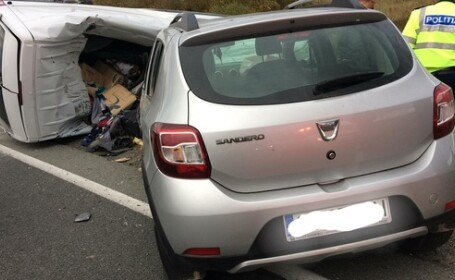 1 mort și 8 răniți într-un teribil accident în Caraș-Severin. A fost activat Planul Roșu