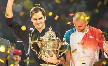 Roger Federer, Marius Copil