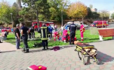 Accident de muncă la Galați. Doi muncitori s-au intoxicat cu gazele de la o stație de pompare