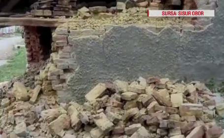 A vrut să-și repare casa, dar a murit strivit de un perete