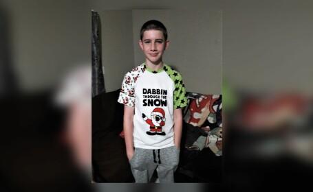Un băiat de 15 ani a murit după ce s-a luptat cu un hoț care i-a intrat în casă