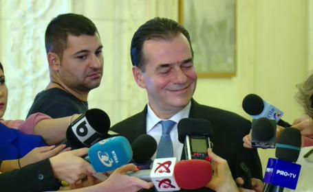 Ludovic Orban: S-a dovedit că Iordache este cârpa de șters pe jos a lui Dragnea
