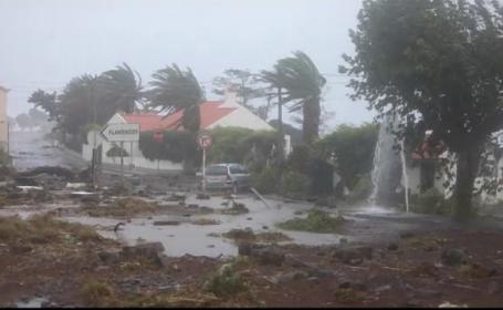 Uraganul Lorenzo a făcut prăpăd în insulele Azore