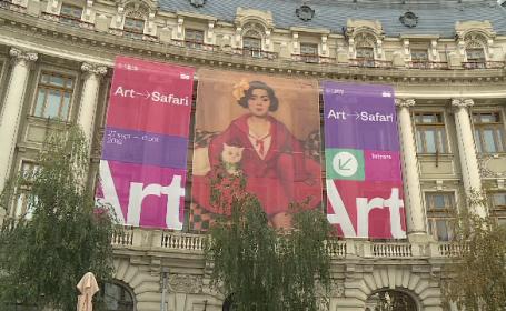 Cel mai scump tablou din România, expus la Art Safari. Suma uriaşă cu care s-a vândut