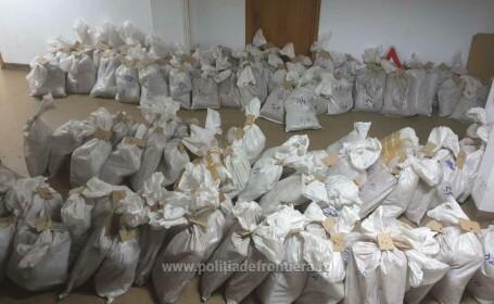 Captură de 9 mil. € la Vama Giurgiu. Ce transporta un sârb în mai mulți saci de rafie