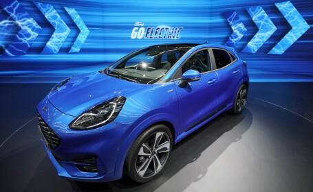 Ford lansează la Craiova primul vehicul hibrid construit în România. Cum arată Ford Puma
