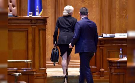 Războiul discursurilor în Parlament la votul moțiunii. Ce a repetat Viorica Dăncilă de 8 ori
