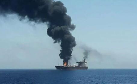 Un petrolier iranian ar fi fost lovit de 2 rachete, in apropierea Arabiei Saudite