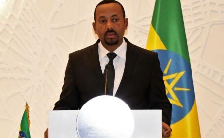 Premierul etiopian Abiy Ahmed, distins cu Premiul Nobel pentru Pace