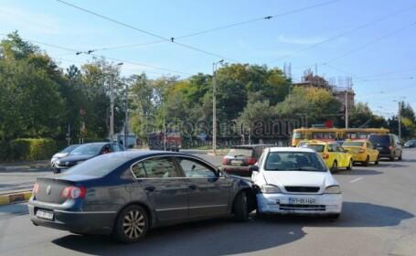 Accident rutier bizar în Botoşani. \
