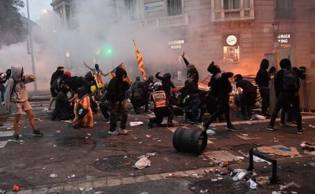 Proteste violente în Catalonia - 3