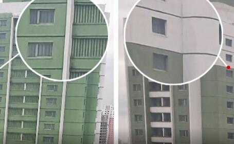 """""""Orașului interzis"""" din Coreea de Nord. Secretul apartamentelor care nu au gemuri"""
