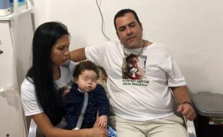 Un copil bolnav a murit după ce tatăl său a fugit cu banii pentru tratament