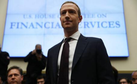 CEO-ul Facebook, Mark Zuckerberg, audiat în Camera Reprezentanților