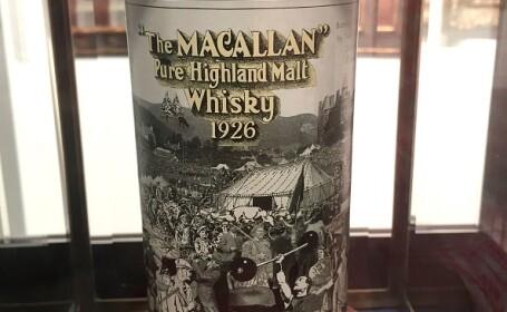 """""""Sfântul Graal"""" al whisky-urilor. Suma record plătită pentru o sticlă, la licitație. VIDEO"""