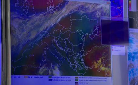 O masă de aer polar loveşte marţi România. Temperaturile scad brusc şi încep ninsorile