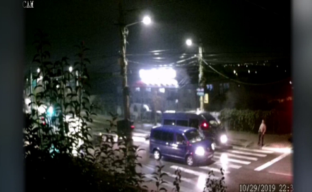 Impact violent între 2 microbuze în Suceava. Cine era la volanul unuia dintre vehicule