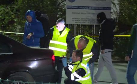 Traficanți de droguri din Pitești, prinși cu focuri de armă, la marginea Capitalei