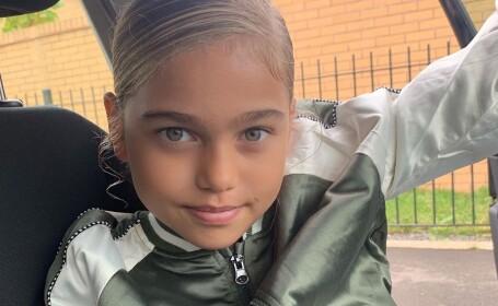 """Cum arată noua """"cea mai frumoasă fetiță din lume"""". Visează să devină fotbalistă"""
