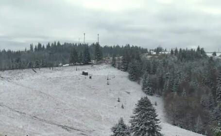 Iarna încearcă să fure startul în România. Zonele care au fost acoperite cu zăpadă