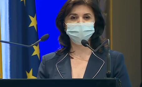 Monica Anisie, la deschiderea anului universitar 2020-2021