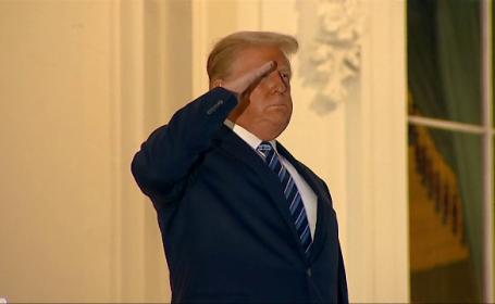 """Donald Trump, declarații controversate după externare. """"Nu vă temeți"""" de Covid-19"""