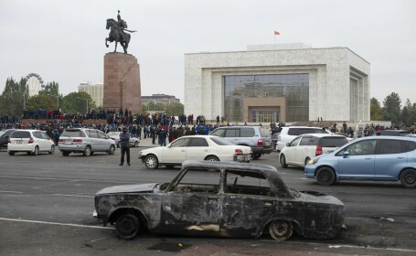 Proteste în Kârgâzstan