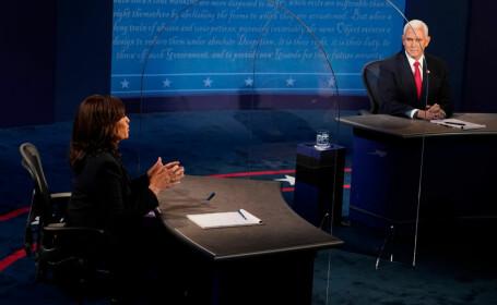Kamala Harris şi Mike Pence
