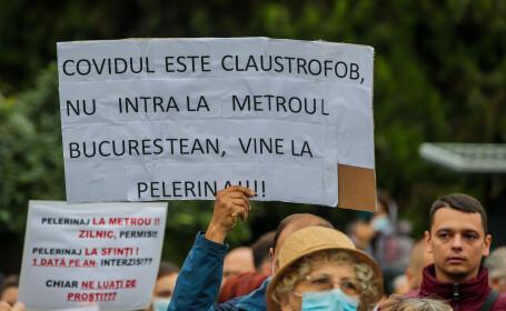 Proteste față de decizia guvernului României de a interzice pelerinajul la moaștele Sf. Parascheva