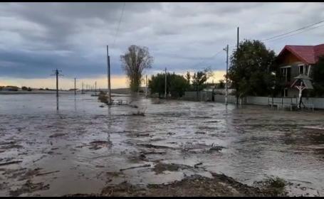Avertisment ANM: Cod portocaliu de inundaţii în Vest. Se pot produce viituri