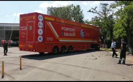Un TIR de terapie intensivă cu 12 locuri stă nefolosit în Ploiești. Nu sunt medici disponibili