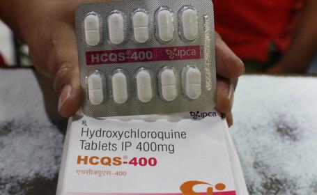 Hidroxiclorochina, cunoscută ca Plaquenil