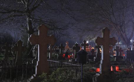 """Întâmplare incredibilă în cimitirul Constanța. """"M-au fugărit până m-am urcat pe cruci"""""""