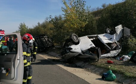 Accident A1 Deva-Sibiu
