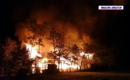 O fostă profesoară universitară a murit arsă de vie, după ce casa ei a fost cuprinsă de flăcări