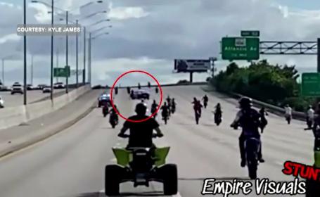 Scene violente în Florida. Cum a intervenit poliția pentru a opri un marș al motocicliștilor