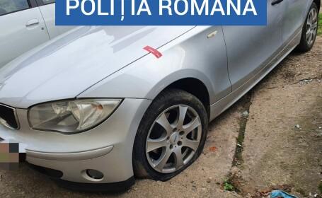 Un şofer de BMW nu a vrut să oprească la un filtru de rutină. Ce ascundea în maşină, în doi saci