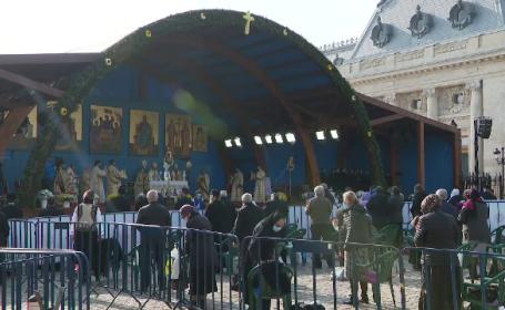 Credincioși amendați pentru că nu purtau mască la pelerinajul Sfântului Dimitrie cel Nou, în semn de protest