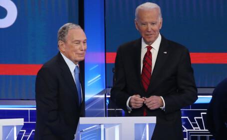 Miliardarul Michael Bloomberg finanţează ultima săptămână de campanie a lui Joe Biden