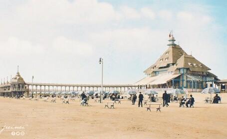 Plaja din Mamaia la 1916