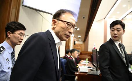 Fostul preşedinte sud-coreean Lee Myung-bak, condamnat la 17 ani de închisoare. Ce a făcut