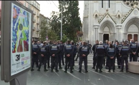 Cine e atacatorul din Nisa, care a ucis trei persoane într-o biserică. Una dintre victime, decapitată